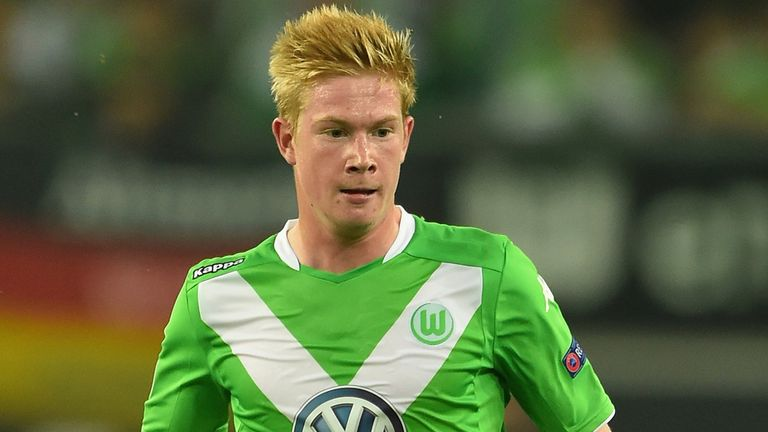 Kevin De Bruyne of Wolfsburg