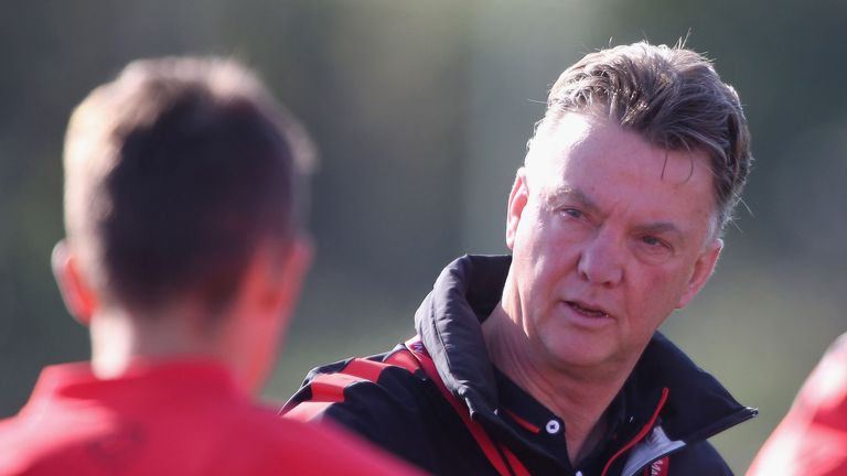 Louis van Gaal will be able to work hard on the training ground with United not in Europe