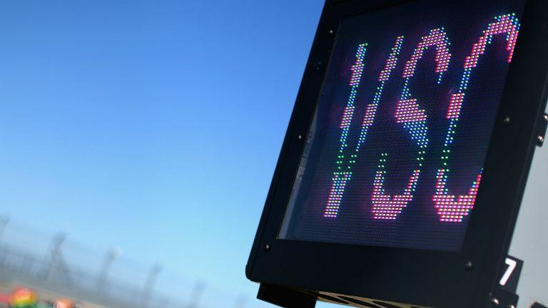 Virtual Safety Car board