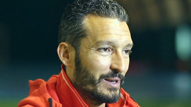 Gianluca Zambrotta was appointed Delhi Dynamos manager last week