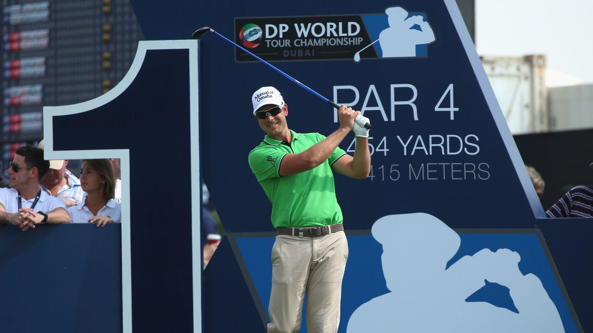 DP World Tour Championship: Henrik Stenson winning battle