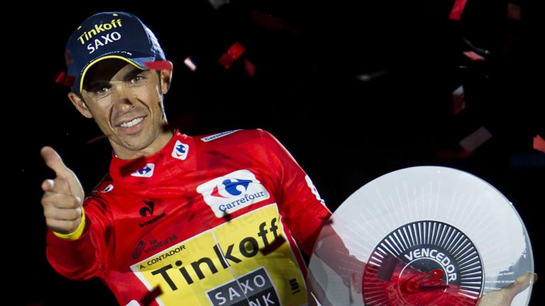 Alberto Contador is a multiple grand tour winner but hasn't been at his best this season