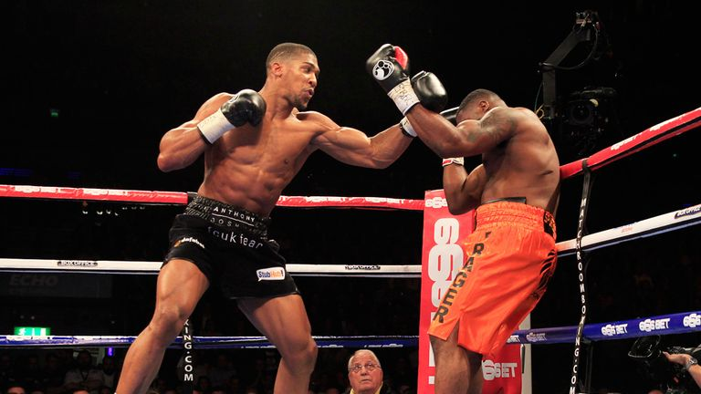 Joshua is hungry for success as he looks to put on a performance for his supporters in his next fight