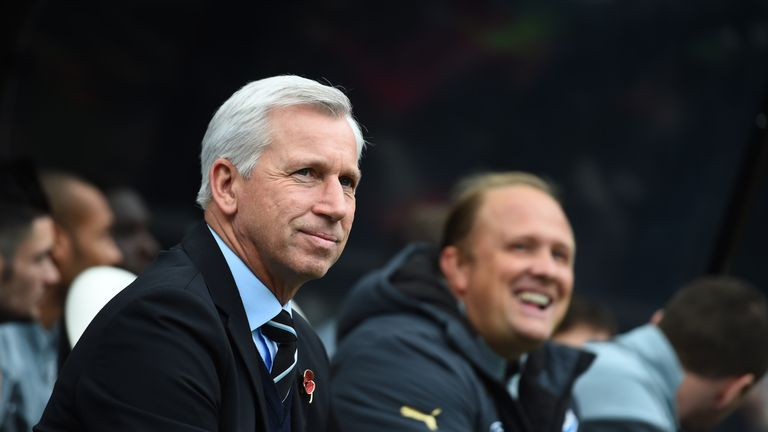 Pardew: Four wins in a row for Magpies