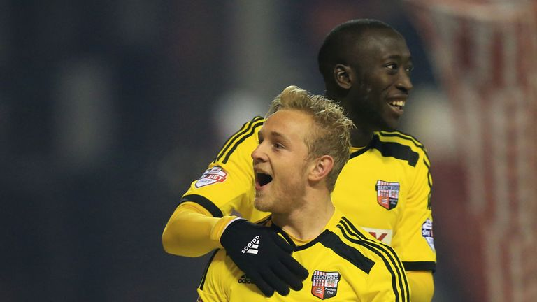 Alex Pritchard: On target for Brentford
