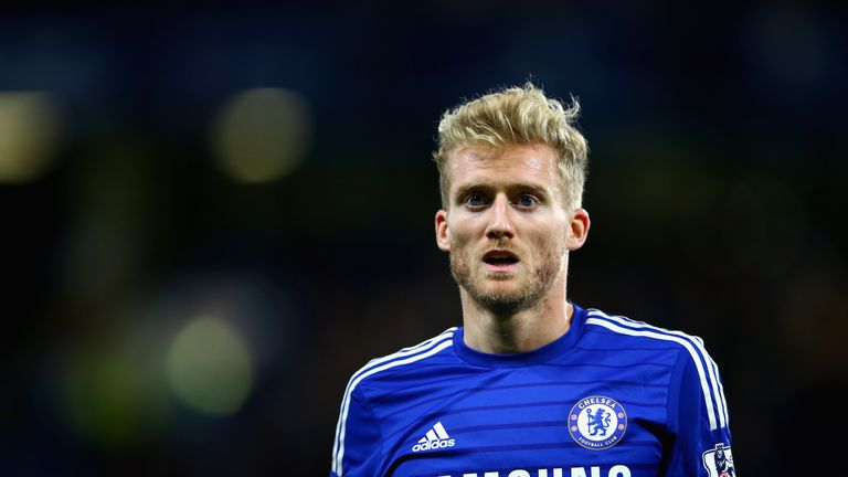 Andre Schurrle: Has rarely featured for Chelsea this season