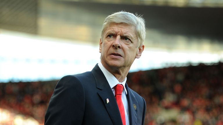 Arsene Wenger at Emirates Stadium on November 1, 2014 for the Premier League match between Arsenal and Burnley.