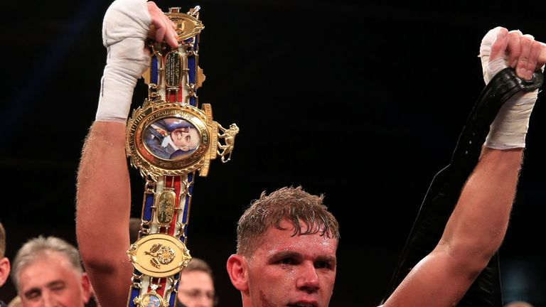 Billy Joe Saunders: Patiently waiting for world title fight