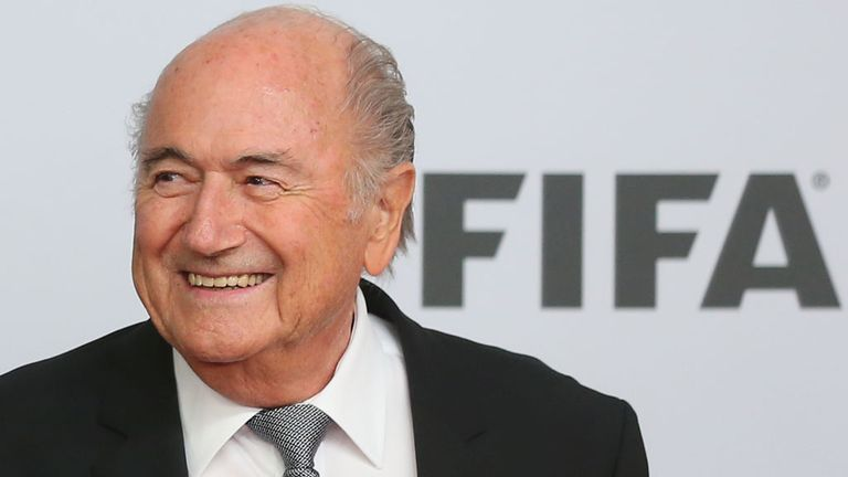 Sepp Blatter has been FIFA president for almost 17 years