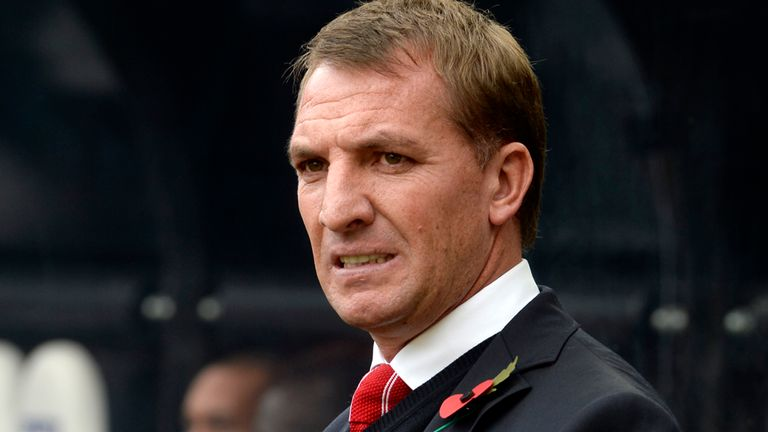 Brendan Rodgers: The Liverpool boss saw his side produce a subdued performance on Tyneside