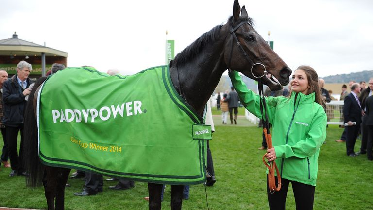 Caid Du Berlais, winner of The Paddy Power Gold Cup during Day Two of The Open at Cheltenham Racecourse.