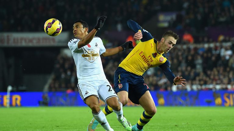 Merson says his old club Arsenal will have far too much for the midtable Swans on Monday Night Footballl