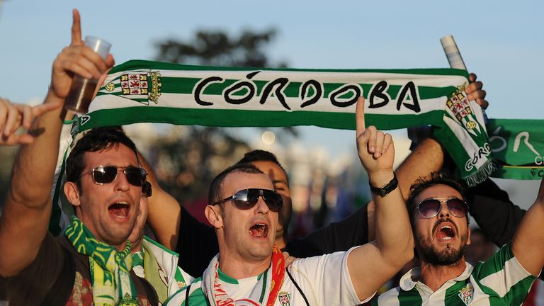 Cordoba fans had little to cheer against Deportivo
