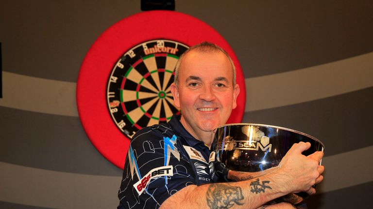 'The Power' will defend his Grand Slam of Darts title