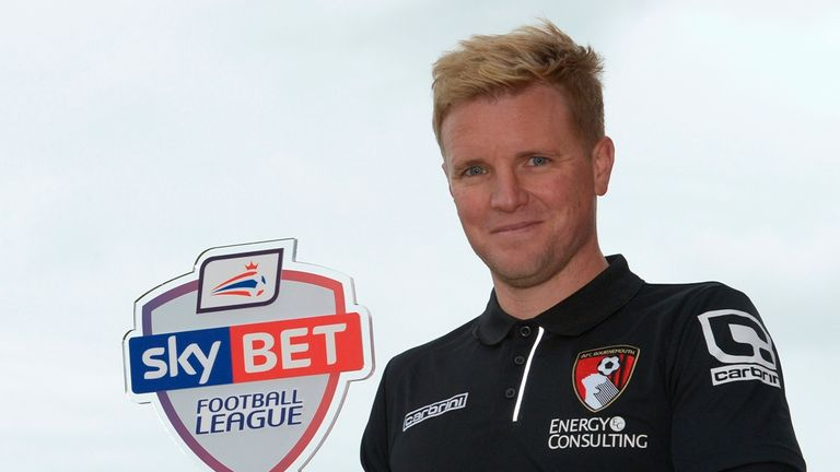 Eddie Howe, Bournemouth, Sky Bet Championship Manager of the Month October 2014