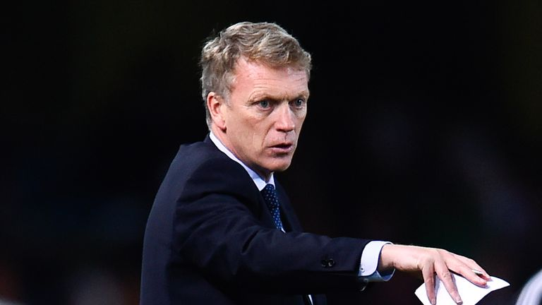 David Moyes: Suffered a heavy first defeat