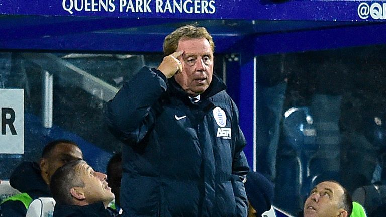 Harry Redknapp QPR Prem Lge