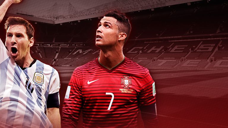 Both Lionel Messi (left) and Cristiano Ronaldo departed the World Cup on Saturday