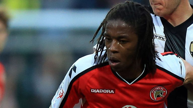 Romaine Sawyers: Scored the only goal for Walsall
