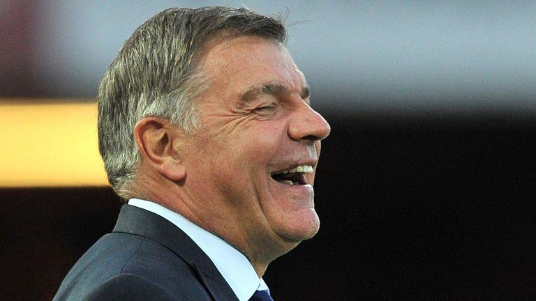 West Ham United's English manager Sam Allardyce
