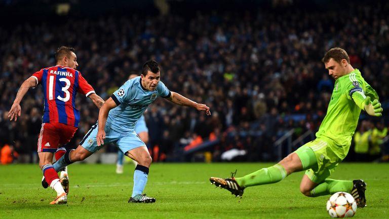 Sergio Aguero Manchester Cityn