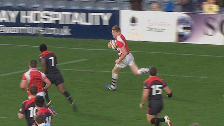Jack Tovey touches down for the Championship XV