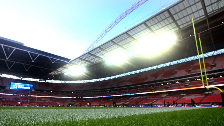 Wembley stadium: Pitch in the spotlight