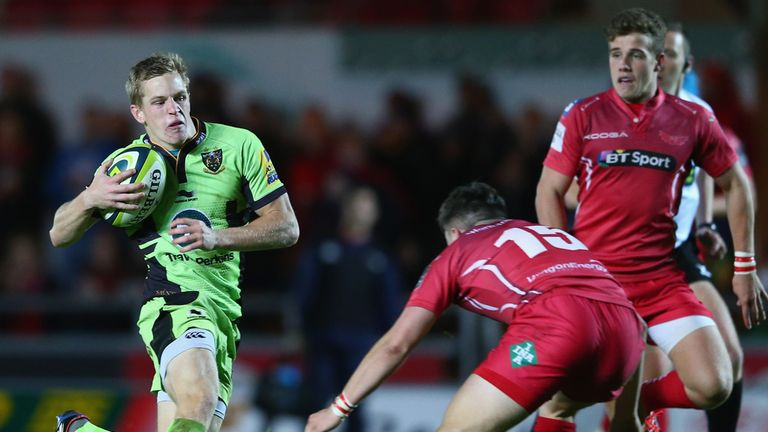 Will Hooley (L): Fly-half departing Saints for Chiefs