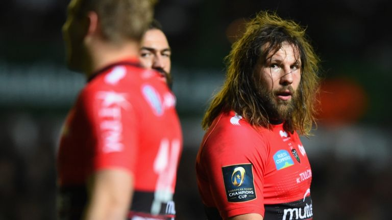 Castrogiovanni enjoyed great success as a Toulon player