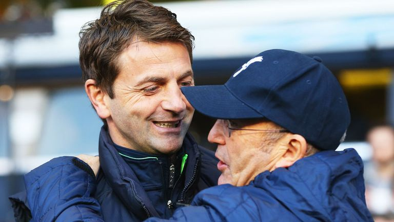 Tony Pulis and Tim Sherwood: On the shortlist for the West Brom job