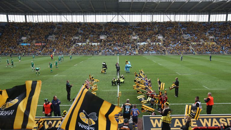 Wasps have owned the stadium since 2014