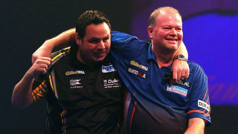 Lewis beat Van Barneveld in the final of the Players Championship on Sunday
