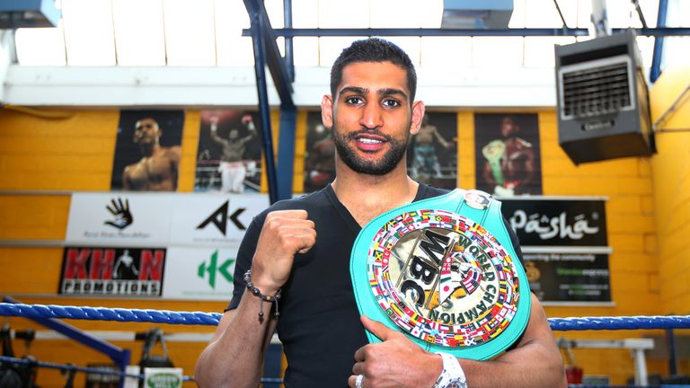 Amir Khan: Ready to fight Kell Brook at Wembley