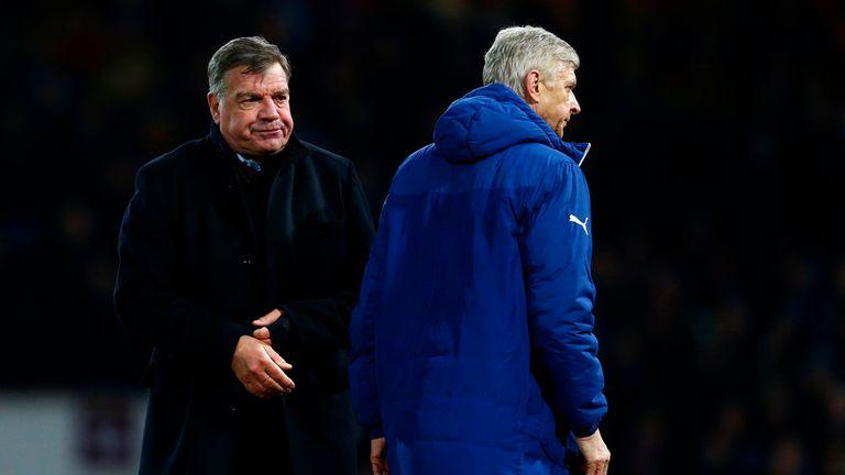 Arsene Wenger and Sam Allardyce