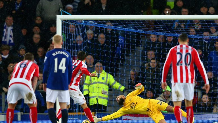 Bojan Krkic: Scores Stoke's penalty at Everton