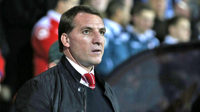 Brendan Rodgers Liverpool Cap One Cup