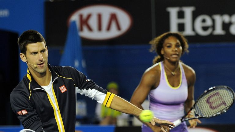 7a9dce2e76c863 ITF World Champions  Novak Djokovic and Serena Williams have taken top  honours