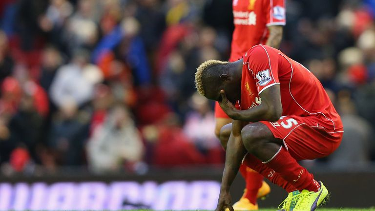 Mario Balotelli: Has failed to find his form since returning to the Premier League