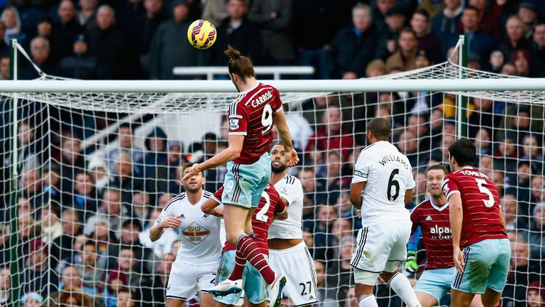 Difficult trip to the north east for Andy Carroll's Hammers