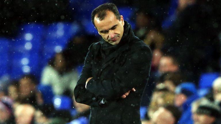 Roberto Martinez - Everton Europa League