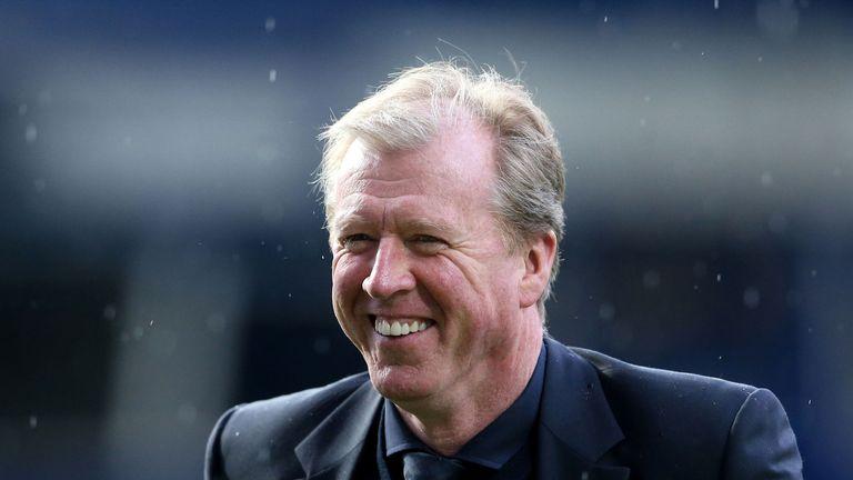 Derby head coach Steve McClaren