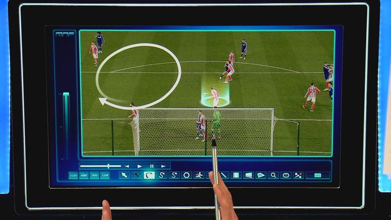 Stoke v Chelsea - first goal (2)