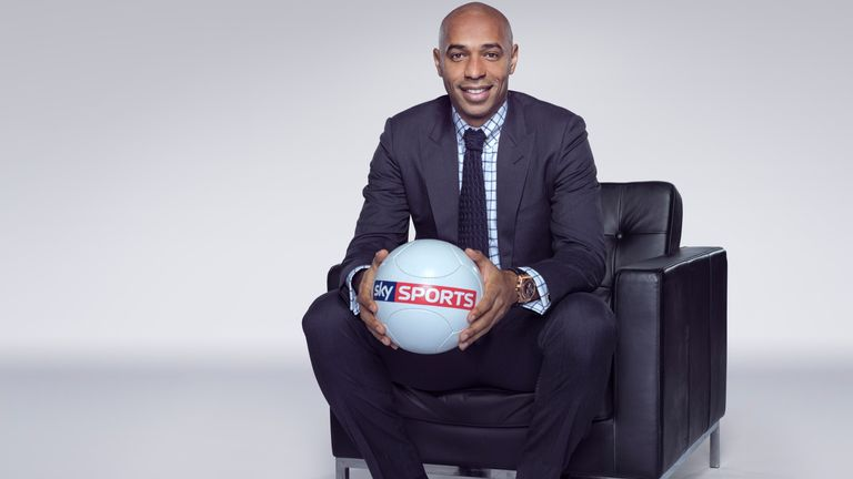 Thierry Henry Sky Sports