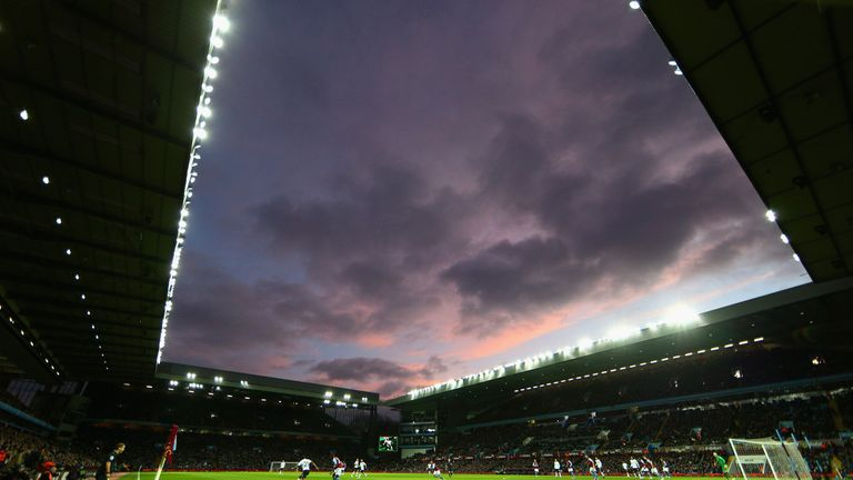A general view during the Barclays Premier League match between Aston Villa and Manchester United at Villa Park on December 20, 2014 in Birmingham, England