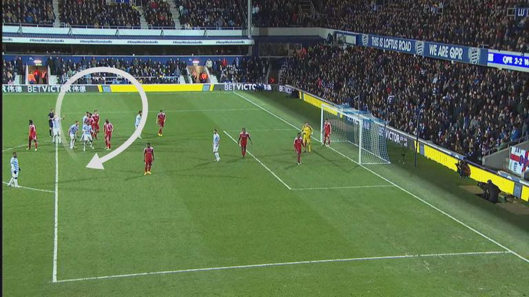 Qpr goal West Brom