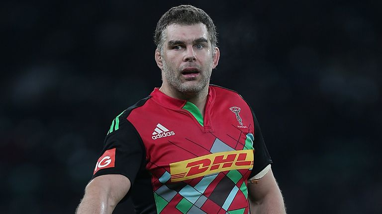 Nick Easter finished playing two years ago and went into coaching with Harlequins
