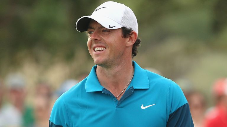 Rory McIlroy: Aiming to become only the sixth player in history to complete a career grand slam