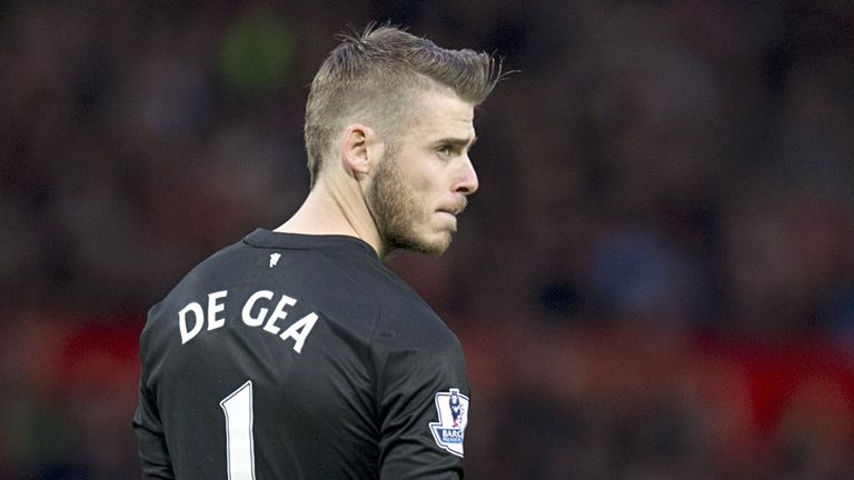 De Gea: Linked with Real Madrid