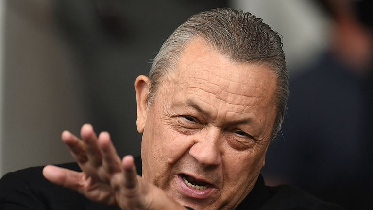 David Sullivan was hit by a projectile during the fan protests at the London Stadium on Saturday