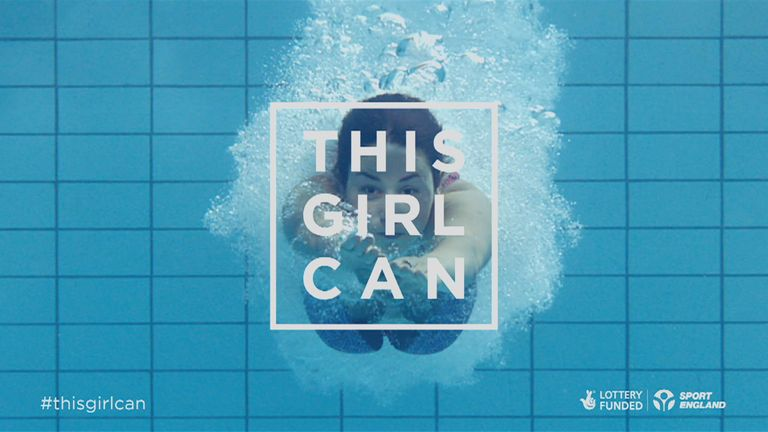 The 'This Girl Can' campaign was launched nine months ago